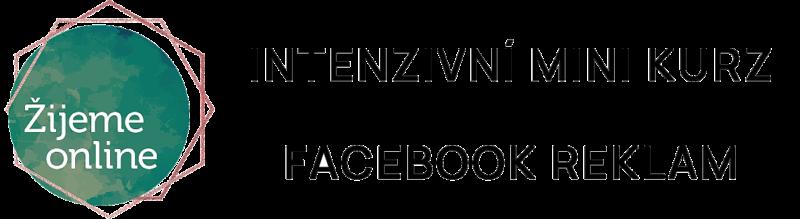Intenzivní mini kurz Facebook reklam | Žijeme online